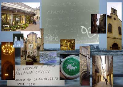 城鄉略影與牆上小鎮居民塗鴉的渴望