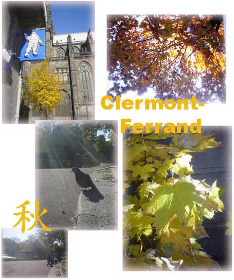 克城雖是名聞世界的米其林企業所在地,可是秋天在這裡還是可以很浪漫的喔!!