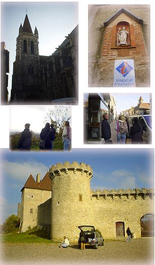 北奧文尼Auvergne鄉下城鎮探訪