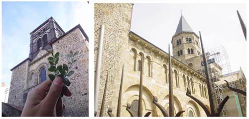 奧文尼地區最古老的教堂~Notre-Dame du Port