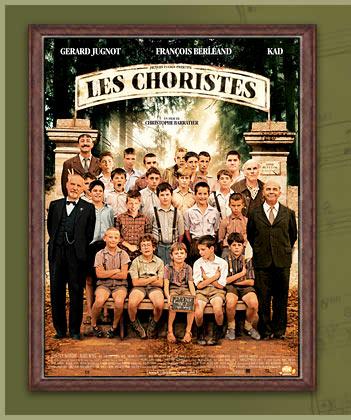 「 Les Choristes《合唱團》」台灣翻成「放牛班的春天」