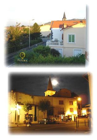 鎮裡的白天與夜晚