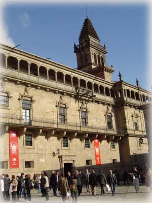 教堂廣場前的一角