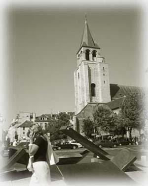 左岸,St-Germain教堂 ......