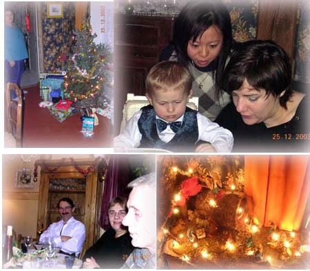 過了一個難忘溫馨的法式聖誕夜