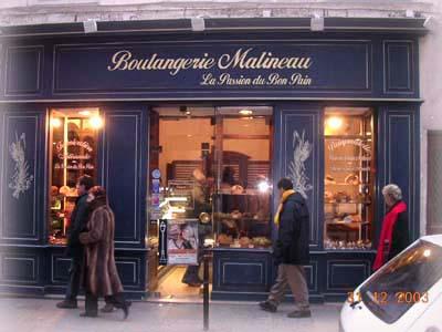 Marais區,曼玉姐姐買麵包的店~Malineau
