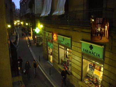 我們住在巴塞隆納 的舊區~ 哥德區