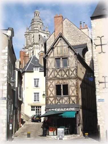 古樸的王者之都Blois布洛瓦城一角