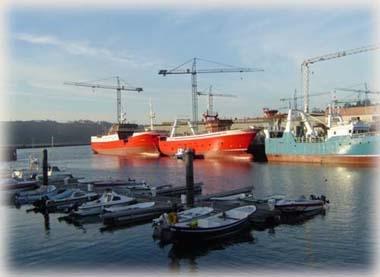 Navia漁港