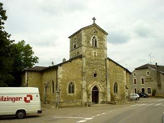 貞德家旁邊的十三世紀教堂,據說她就是在這邊受洗的
