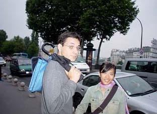 兩個Montpellier朋友 Vincent 與Stephanie
