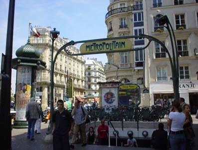 Paris地鐵片影...
