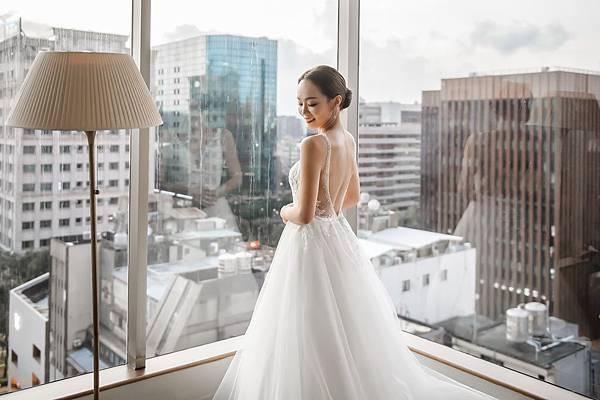 18.晶華酒店透明玻璃的新娘房
