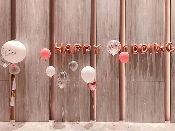03_台北格萊天漾婚禮氣球佈置