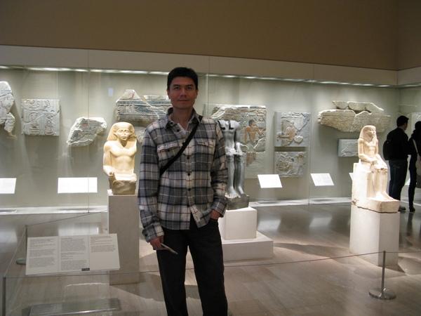 在大都會博物館裡