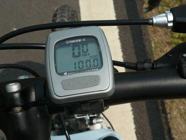 終於騎到100了