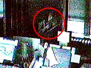法院監視器拍到的疑似鬼影
