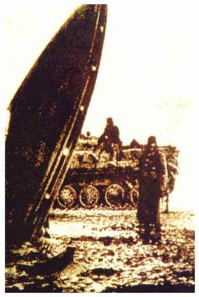 墜毀在前蘇聯的飛碟