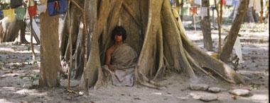 尼泊爾靈修少年