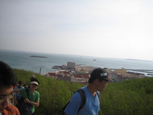 小山上整個view也不錯:p