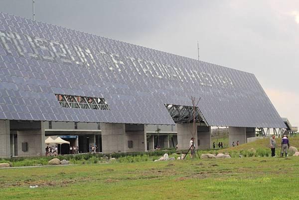 壯觀的太陽能板