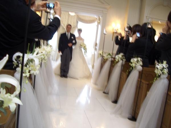 婚禮進場..還是很模糊