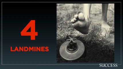 4 landmines