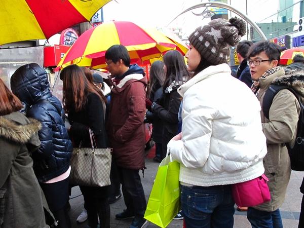 釜山電影廣場 甜煎餅