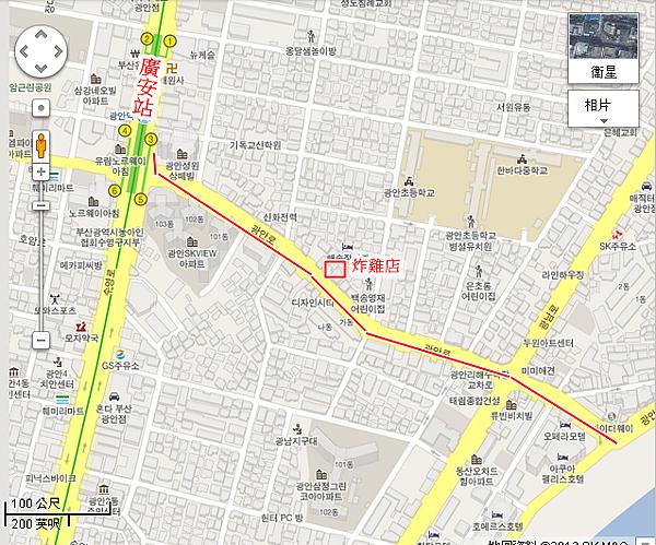 廣安大橋MAP