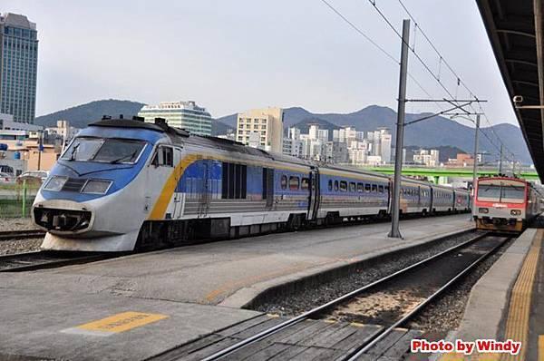 釜山到慶州搭火車