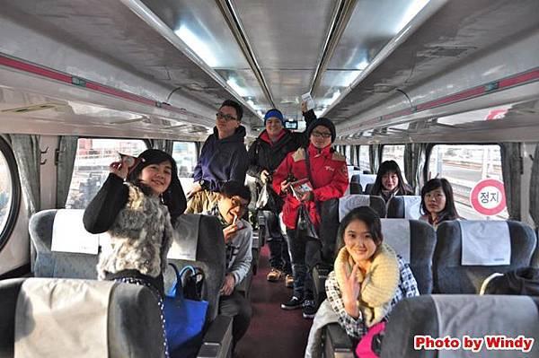 韓國火車新村號(Saemaul)