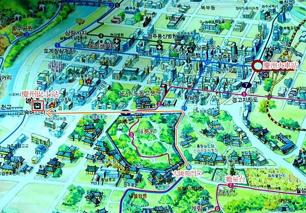 慶州巴士站-MAP
