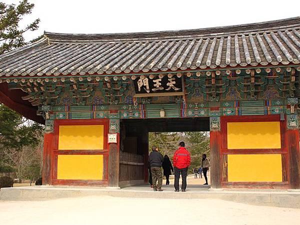 佛國寺 天王門