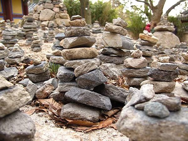 佛國寺 堆石祈福