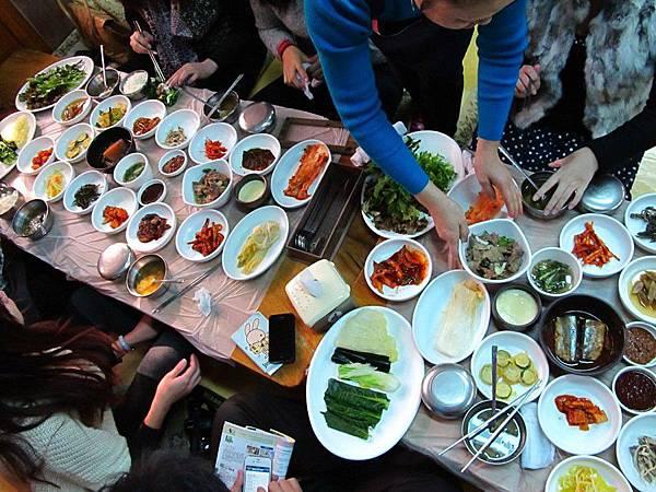 慶州代表美食:包菜飯