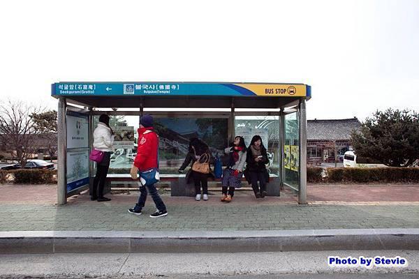 佛國寺搭10號公車往慶州市區