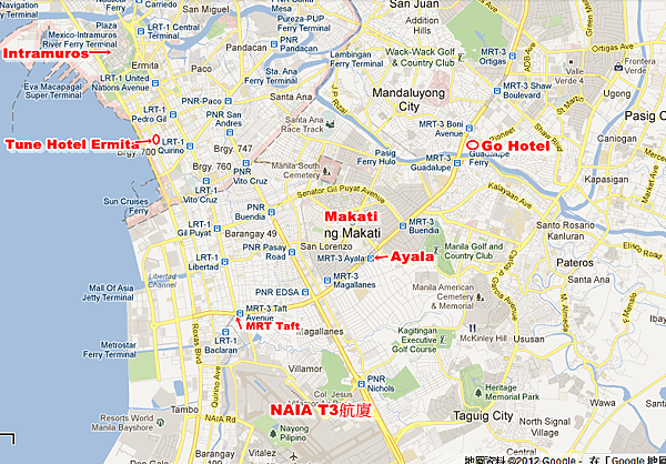 Go Hotel Cybergate Plaza Map