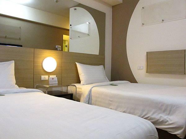 Tune Hotel Ermita五星級的床