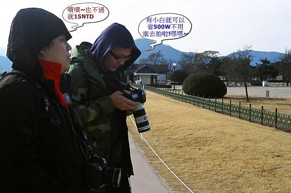 瞻星臺參觀入場費:個人500韓元