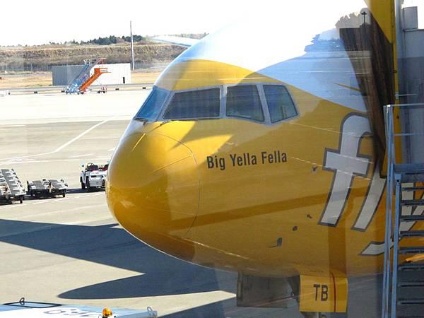 酷航第四架飛機 Big Yella Fella