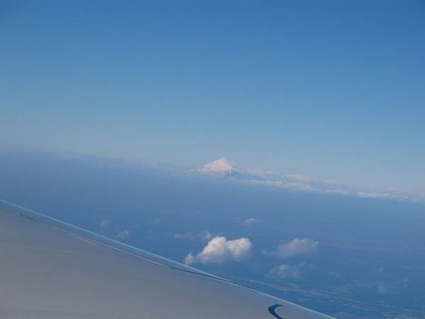 天氣好的話,抵達東京前可以看到富士山
