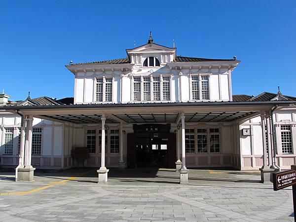 JR日光站本身就是個很有特色的建築