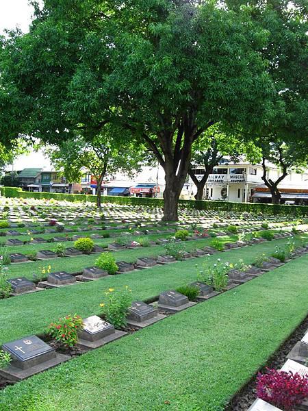 Don-Rak War Cemetery二次大戰的盟軍公墓