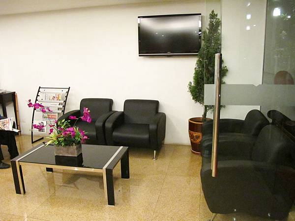 My Hotel @ KL Sentral Lobby櫃台