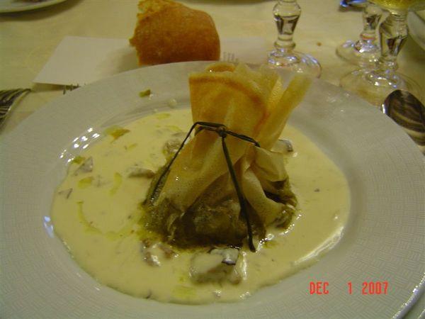 開胃菜‧白醬蘆筍包