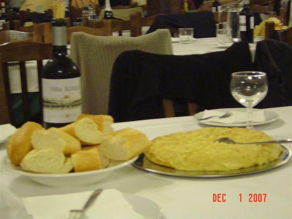 晚餐‧西班牙蛋餅