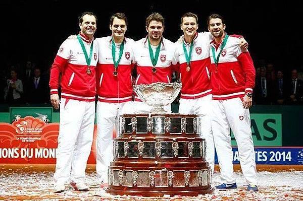 恭賀Stan獲得2014年Davis Cup男子雙打冠軍1