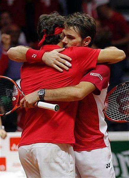 恭賀Stan獲得2014年Davis Cup男子雙打冠軍5