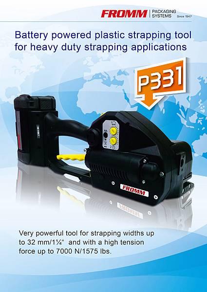 高拉力塑鋼帶電動打包機P331 電動打包機 手提打包機 打包機維修 PET打包機 包裝機 自動包裝機 打帶機 PET打帶機 捆包機 PET捆包機DM1