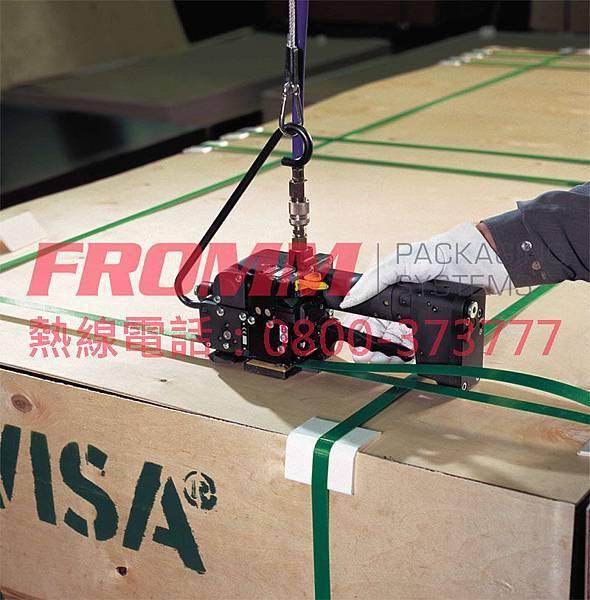 塑鋼帶氣動打包機P356所有場合都可使用